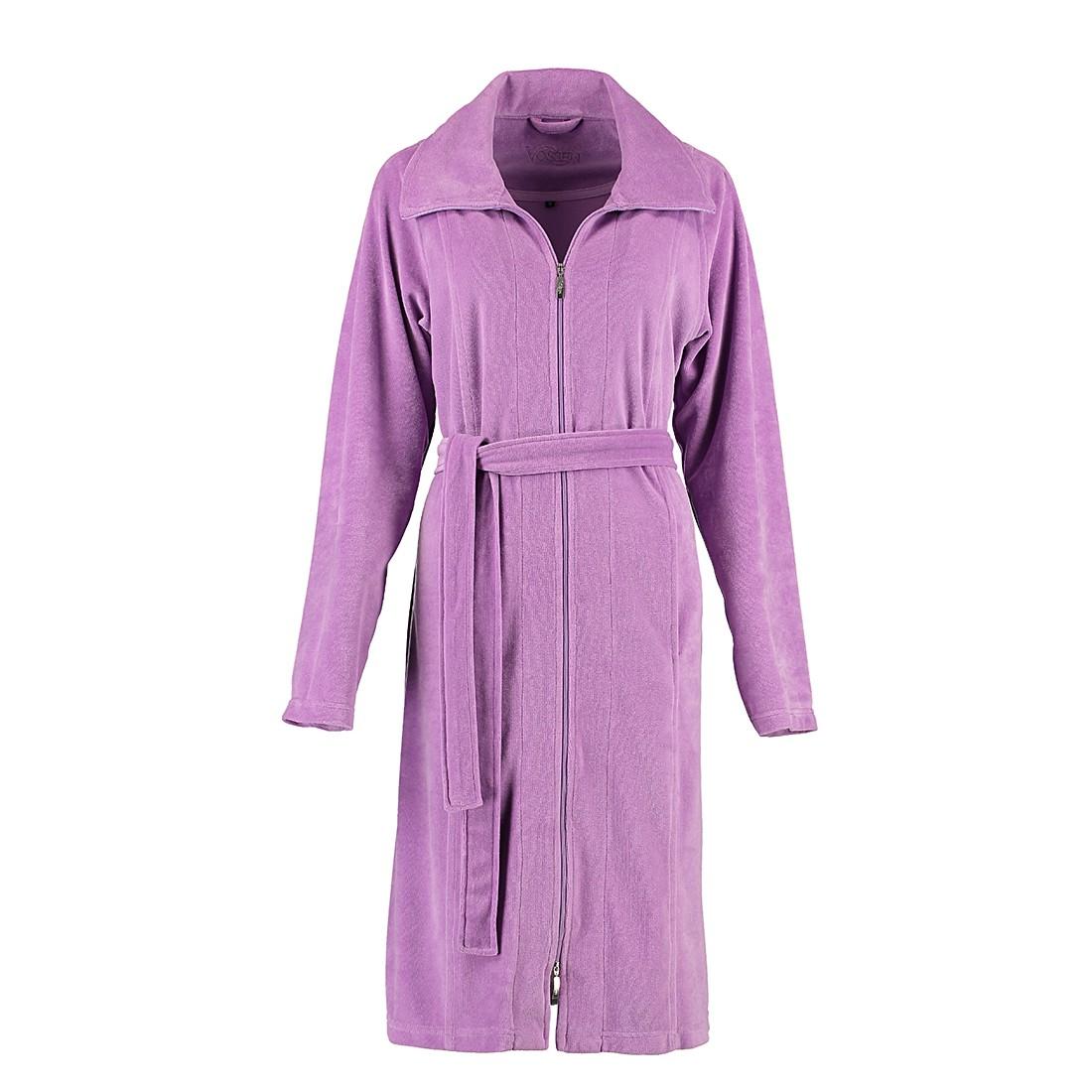 Bademäntel Damen Nora – Baumwolle/Polyester – Dark Lilac – M, Vossen online bestellen
