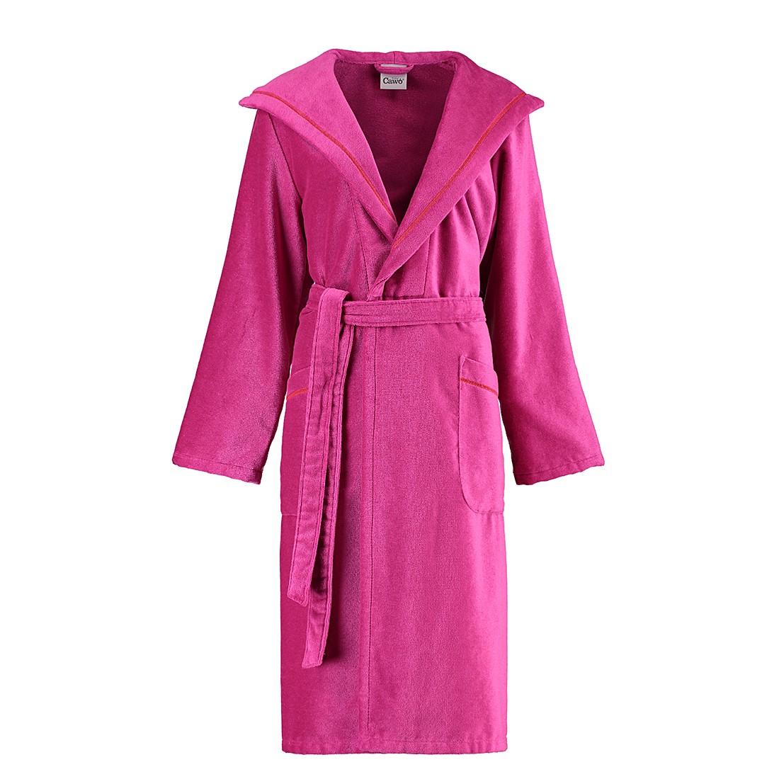 Bademäntel Damen Velours Casa 3334 – Baumwolle – Pink – L, Cawö online kaufen