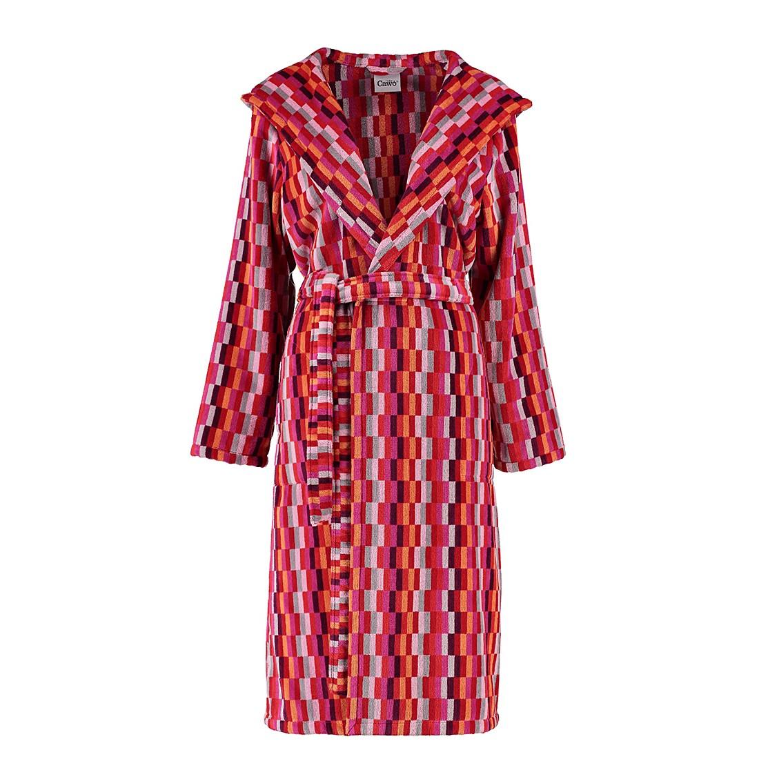 Bademäntel Damen Velours Life Style Flash 3404 – Baumwolle – Pink – S, Cawö online bestellen