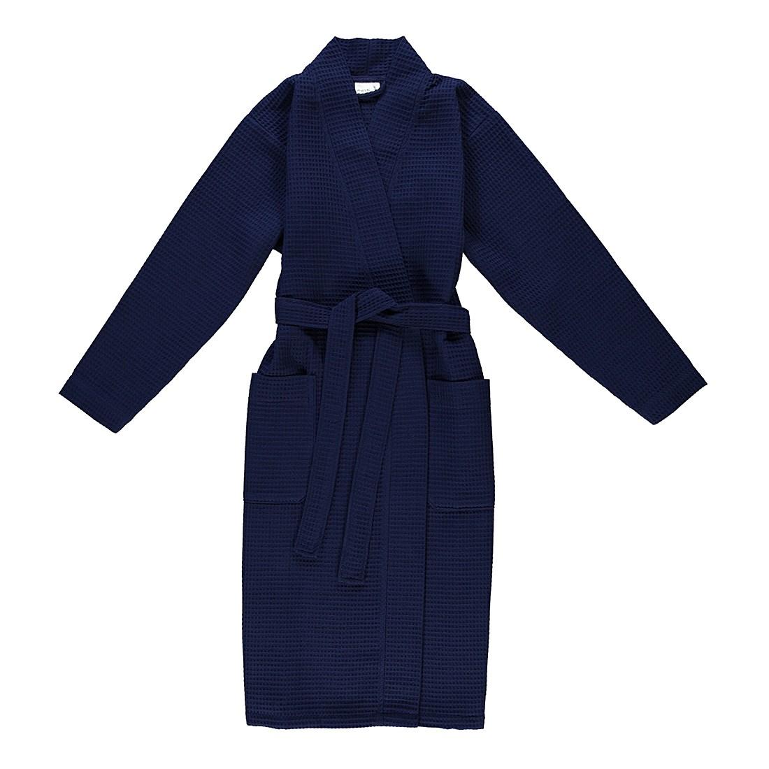 Bademantel unisex Pique Homewear – 100% Baumwolle deep sea – 596 – Größe: S, Möve günstig bestellen