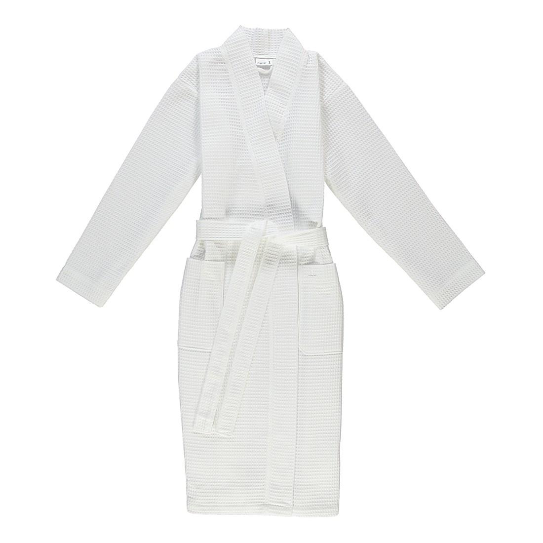 Bademantel unisex Pique Homewear – 100% Baumwolle snow – 001 – Größe: L, Möve online bestellen