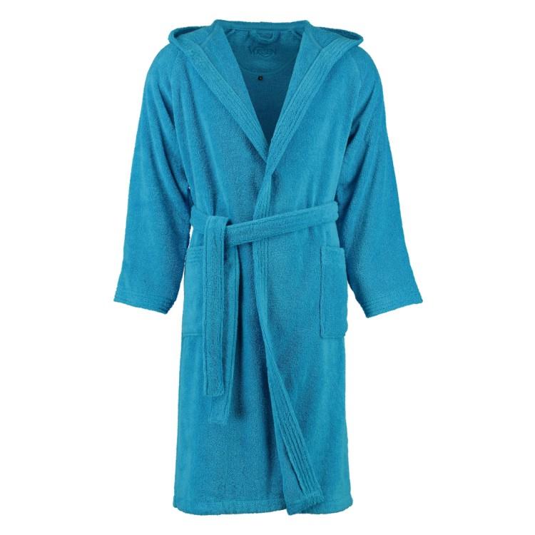 Bademäntel unisex Sydney Supersoft – Baumwolle – Turquoise – XL, Vossen jetzt bestellen