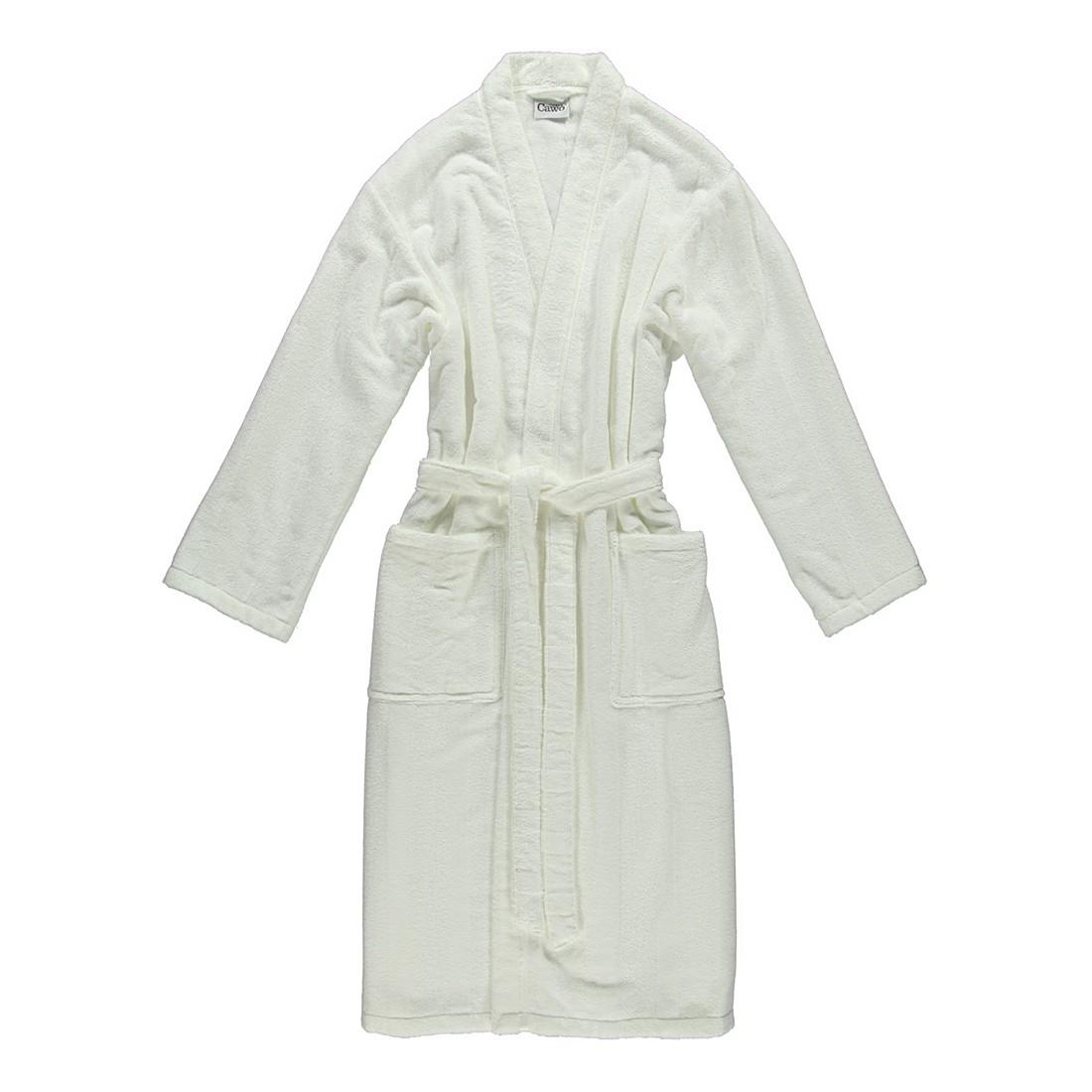 Bademantel 1002 Noblesse – Herren – FRottier – 100% Baumwolle Weiß – 600 – Größe: L, Cawö online kaufen