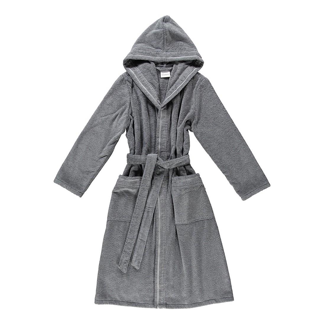 Bademantel 4110 – Damen – FRottier – 100% Baumwolle – Anthrazit – 774 – Größe: XS, Cawö online kaufen