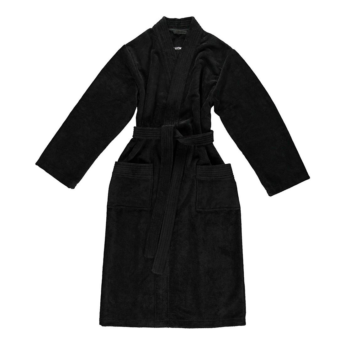 Bademantel Adam – Herren – Multifaser – 40% Polyester – 30% Baumwolle – 30% Viskose Schwarz – Größe: M, Morgenstern bestellen