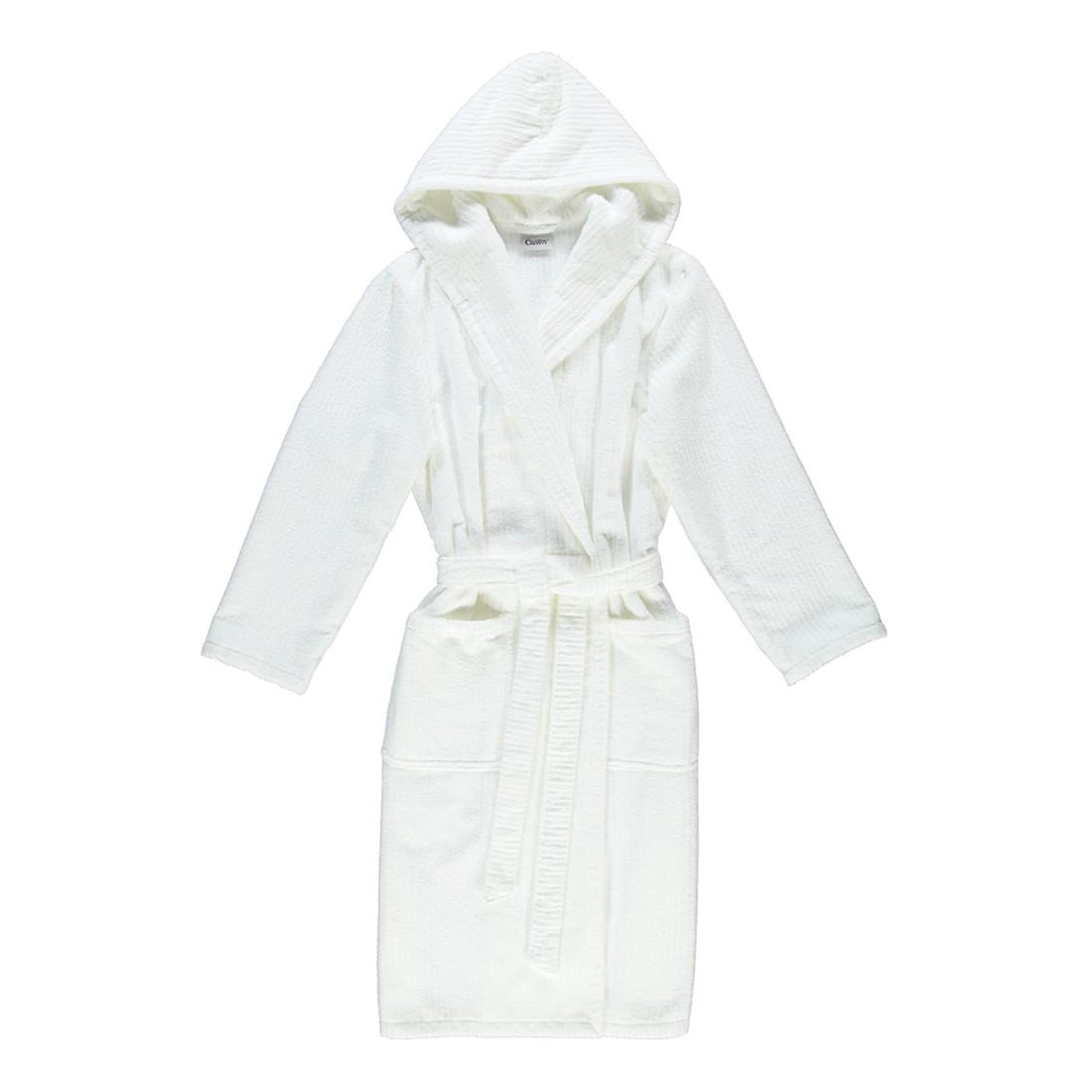 Bademantel Contour 1633 – Herren – 100% Baumwolle Weiß – 600 – Größe: XL, Cawö günstig online kaufen