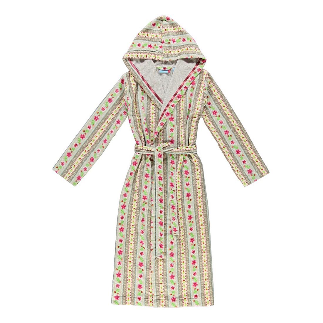 Bademantel Cute Ribbon – Damen – Velours – 100% Baumwolle Khaki – Größe: XS, PIP Studio bestellen