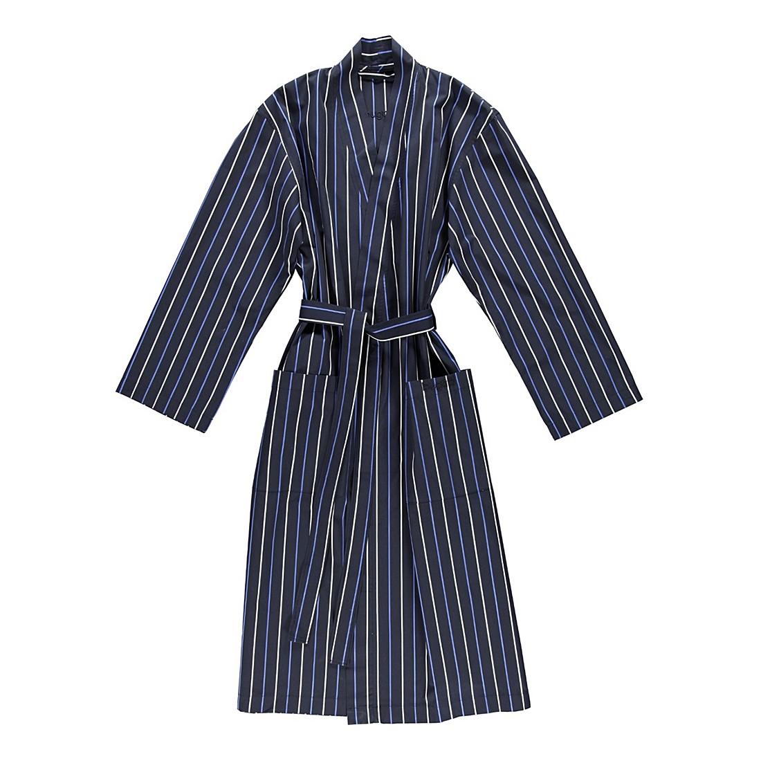 Bademantel Linio – Herren – Glattstoff – 100% Baumwolle Blau – Größe: XXL, Bugatti jetzt kaufen