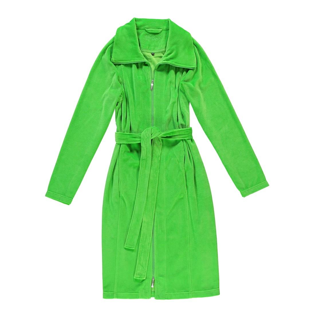 Bademantel Nora – Damen – 80% Baumwolle, 20% Polyester valley green – 565 – Größe: XL, Vossen jetzt kaufen
