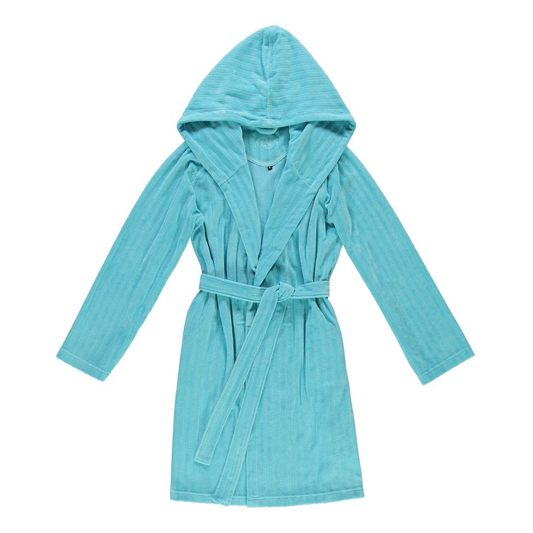 Bademantel Ruby – Damen Velours – 80% Baumwolle, 20% Polyester light azure – 534 – Größe: XL, Vossen kaufen