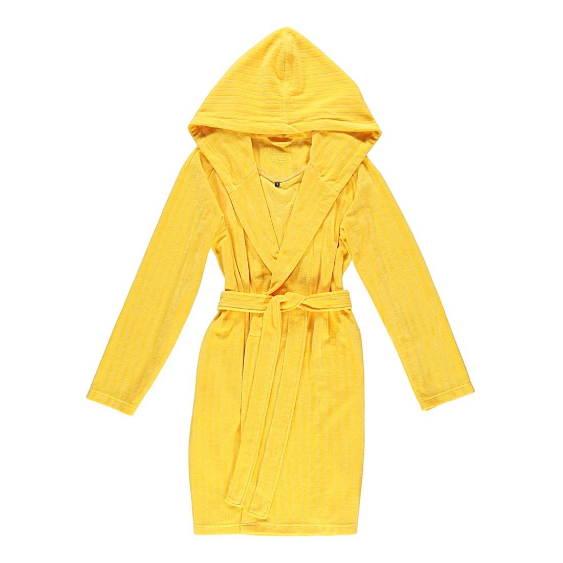 Bademantel Ruby – Damen – Velours – 80% Baumwolle – 20% Polyester safran – 180 – Größe: M, Vossen online kaufen
