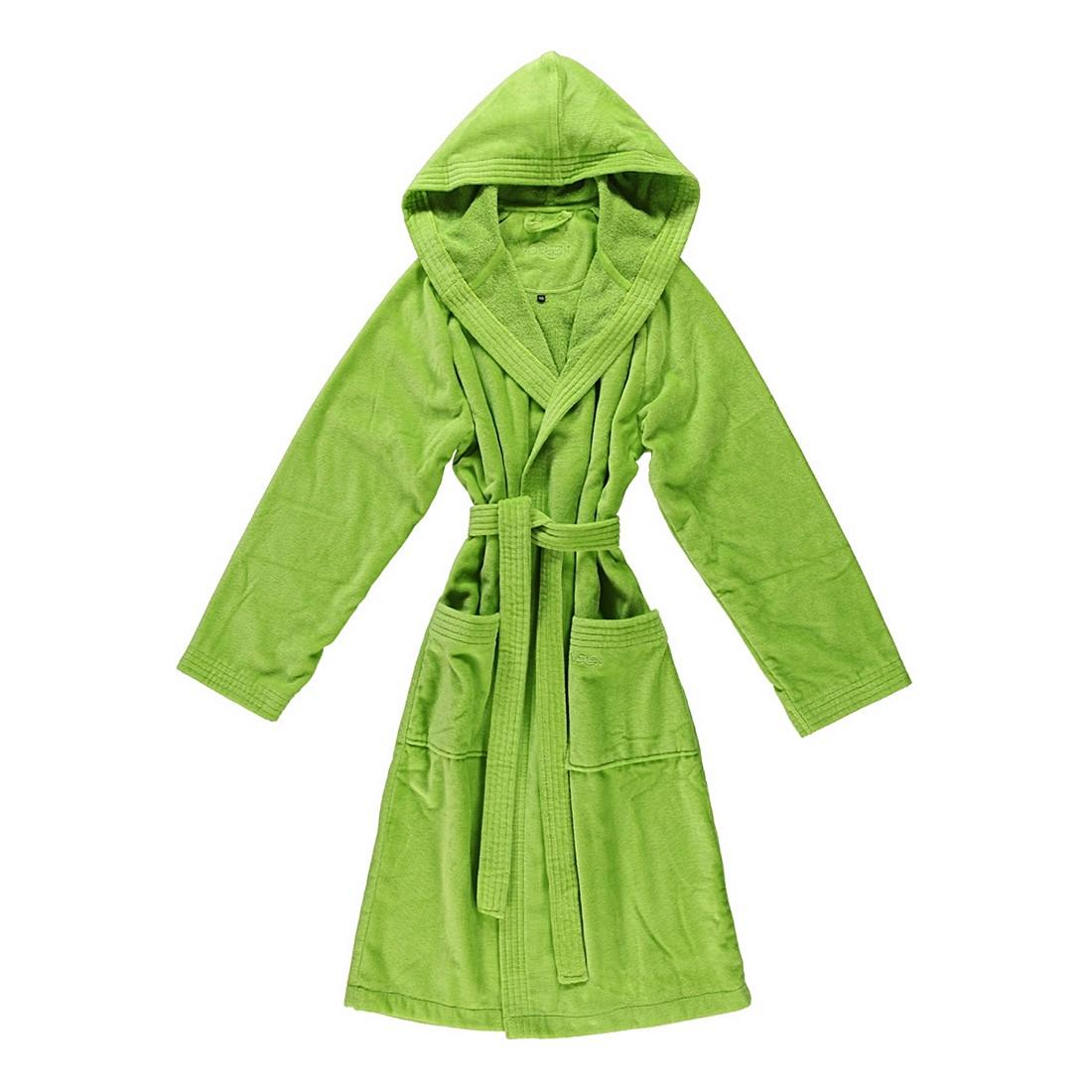 Bademantel Texas – Damen – Velours – 100% Baumwolle meadowgreen – 530 – Größe: XL, Vossen günstig online kaufen