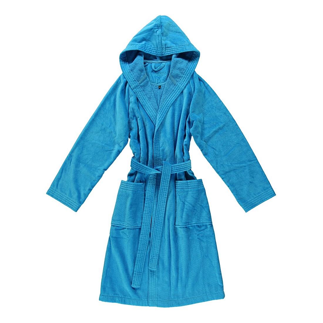 Bademantel Texas – Damen – Velours – 100% Baumwolle turquoise – 557 – XXL, Vossen jetzt bestellen