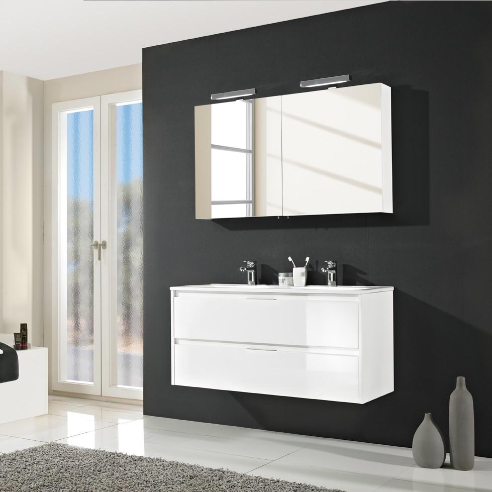 Badezimmer-Set Tahiti (5-teilig) - Hochglanz Weiß, Pelipal