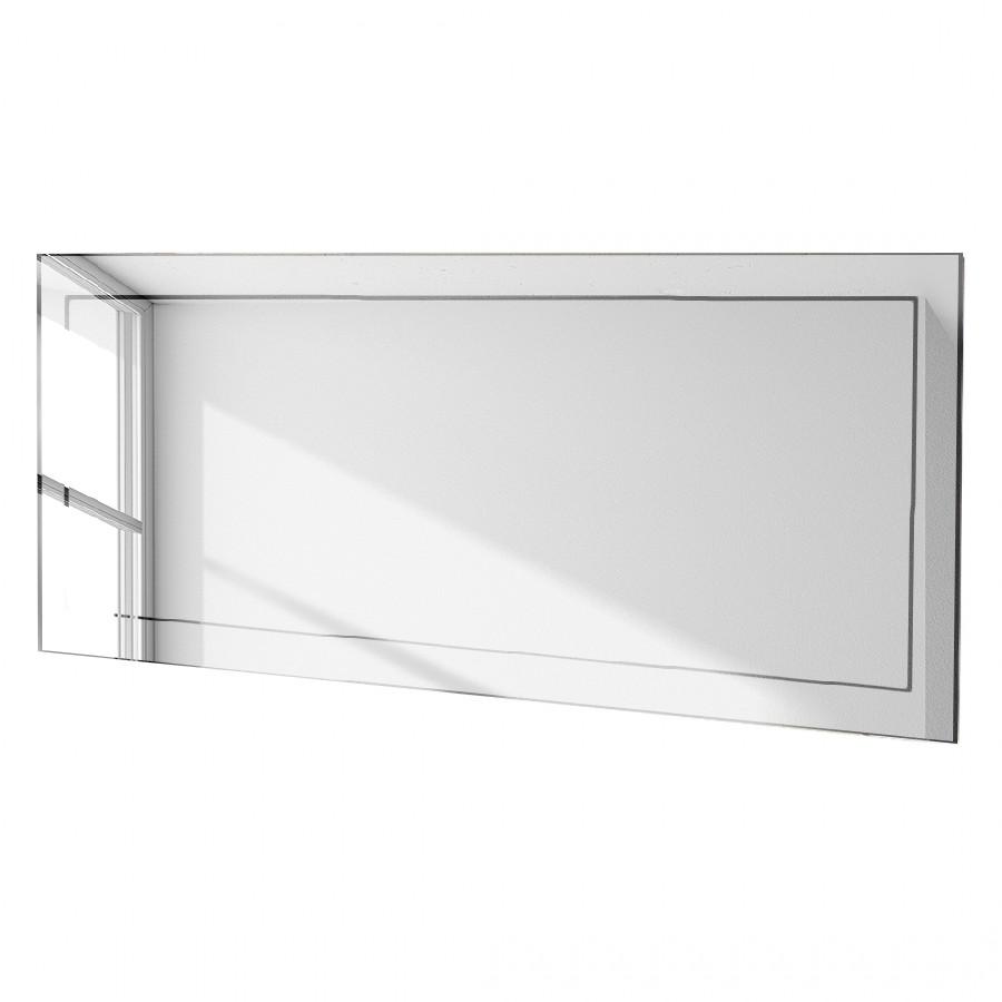 Badezimmerspiegel Isis – mit geschliffenen Kanten – im Querformat mit ,,Spiegel auf Spiegel Design, Rene Bugil jetzt kaufen