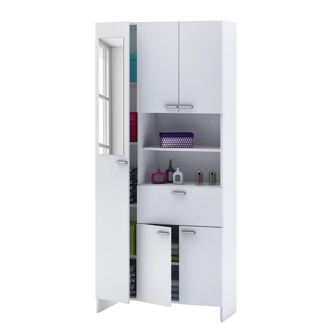 Badschrank weiß stehend  Badschrank Weiß: Schränke online günstig kaufen über shop24.at shop24.