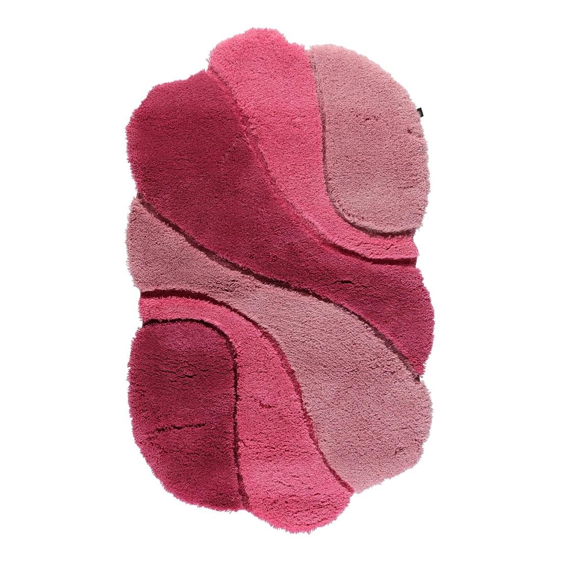 Badteppich Ambiente – 100% Polyacryl malve/hibiskus/magnolia – 1304 – Abmessungen: 70 x 130 cm, Rhomtuft günstig bestellen