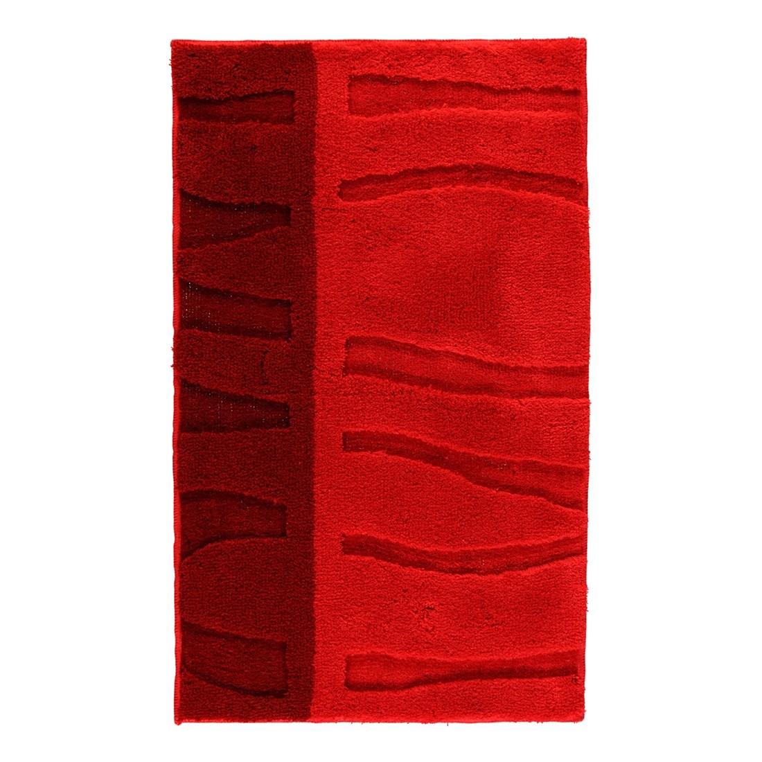 Badteppich Arcadia – 100% Polyacryl Rubin – 453 – Abmessungen: 55×65 cm, Kleine Wolke günstig bestellen