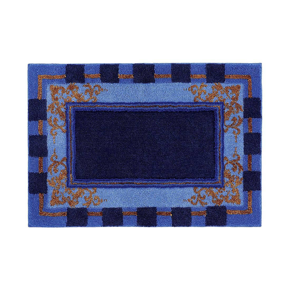 Badteppich Baroque – 60 x 60 cm – Blau, Grund kaufen