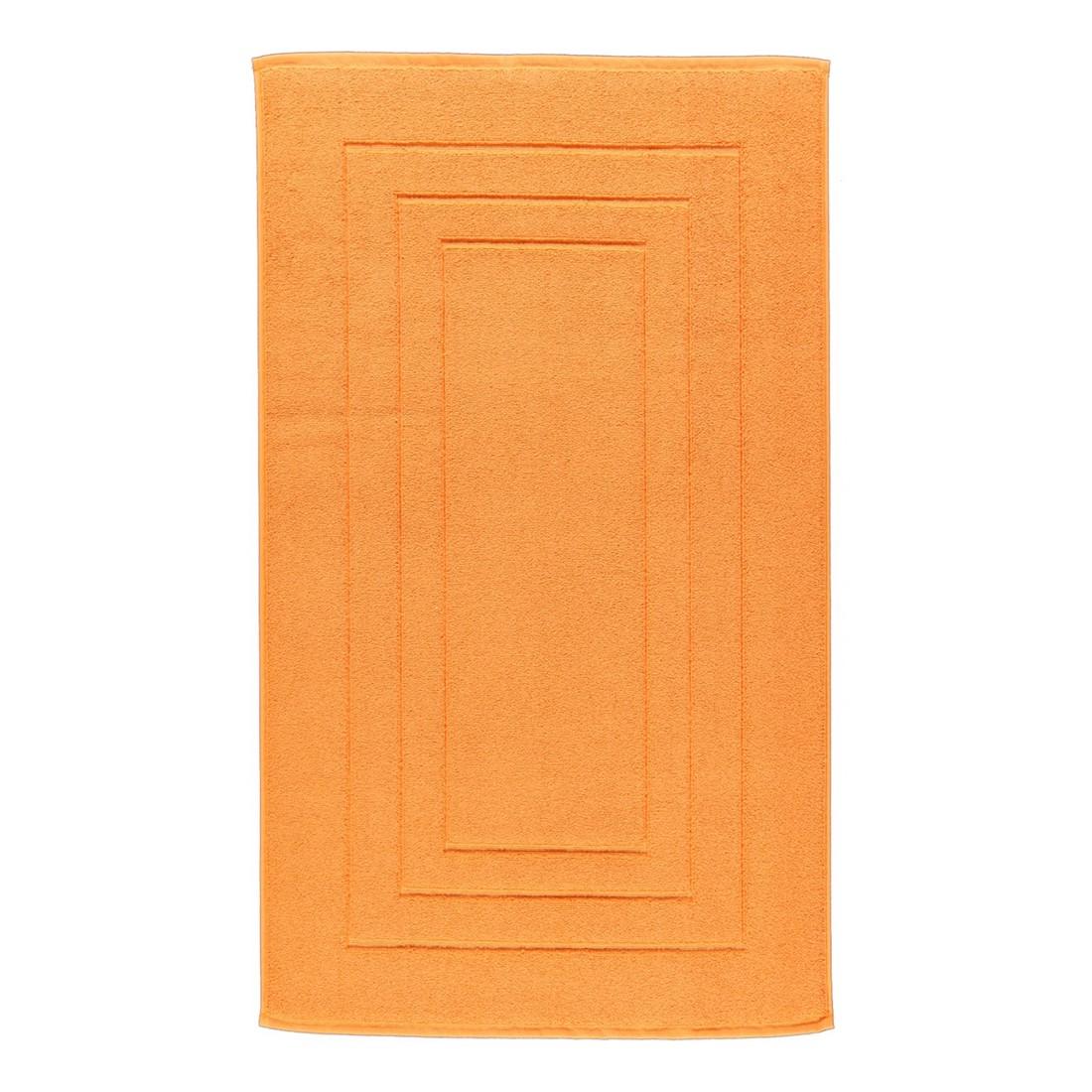 Badteppich Calypso Feeling – 100% Baumwolle nectarin – 246 – Toilettenvorlage: 59 x 59 cm, Vossen günstig online kaufen