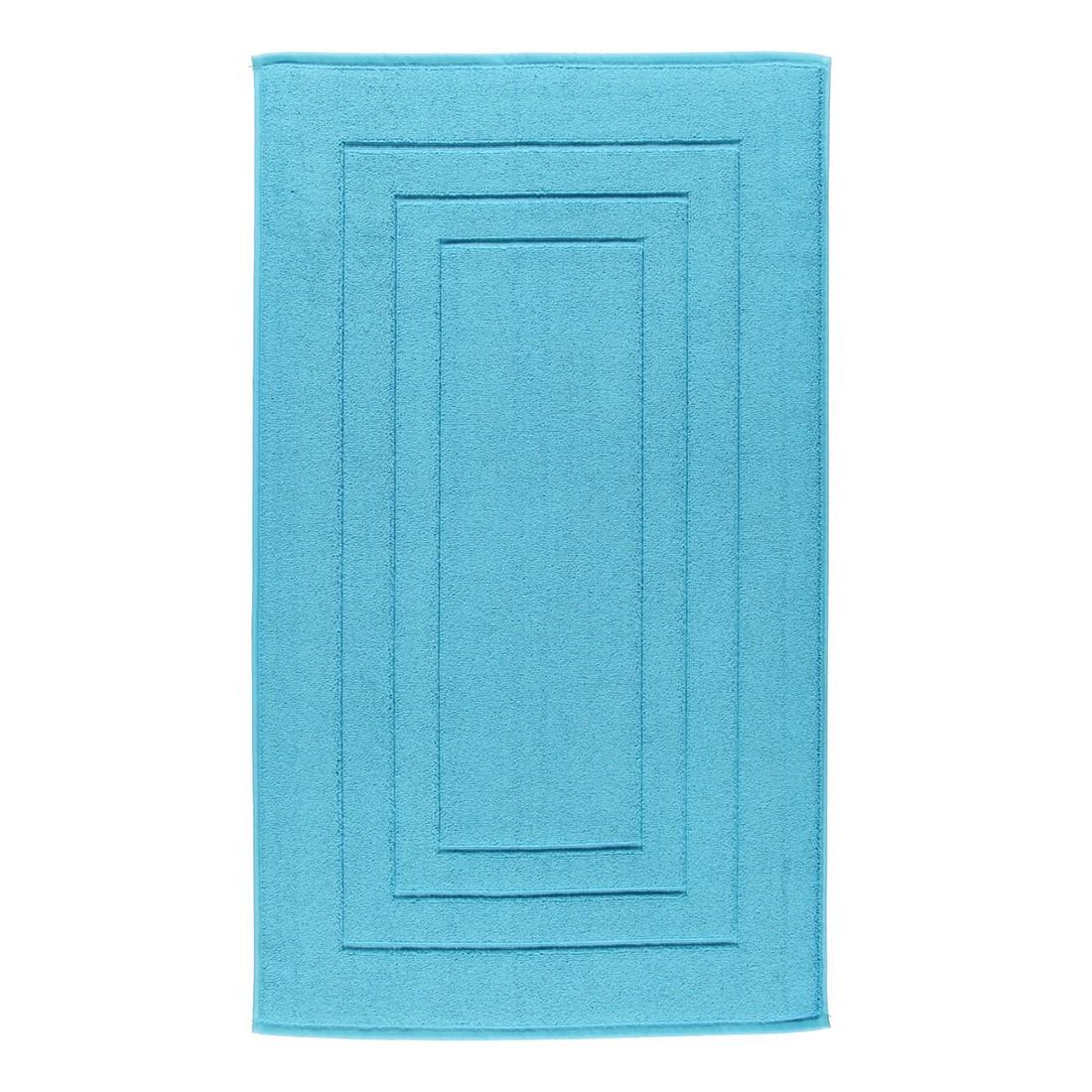 Badteppich Calypso Feeling – 100% Baumwolle turquoise – 557 – 60 x 60 cm, Vossen günstig bestellen