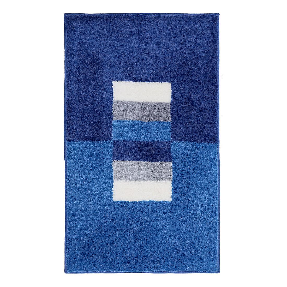 Badteppich Capri – Blau – Größe: 60 x 90 cm, Grund online kaufen