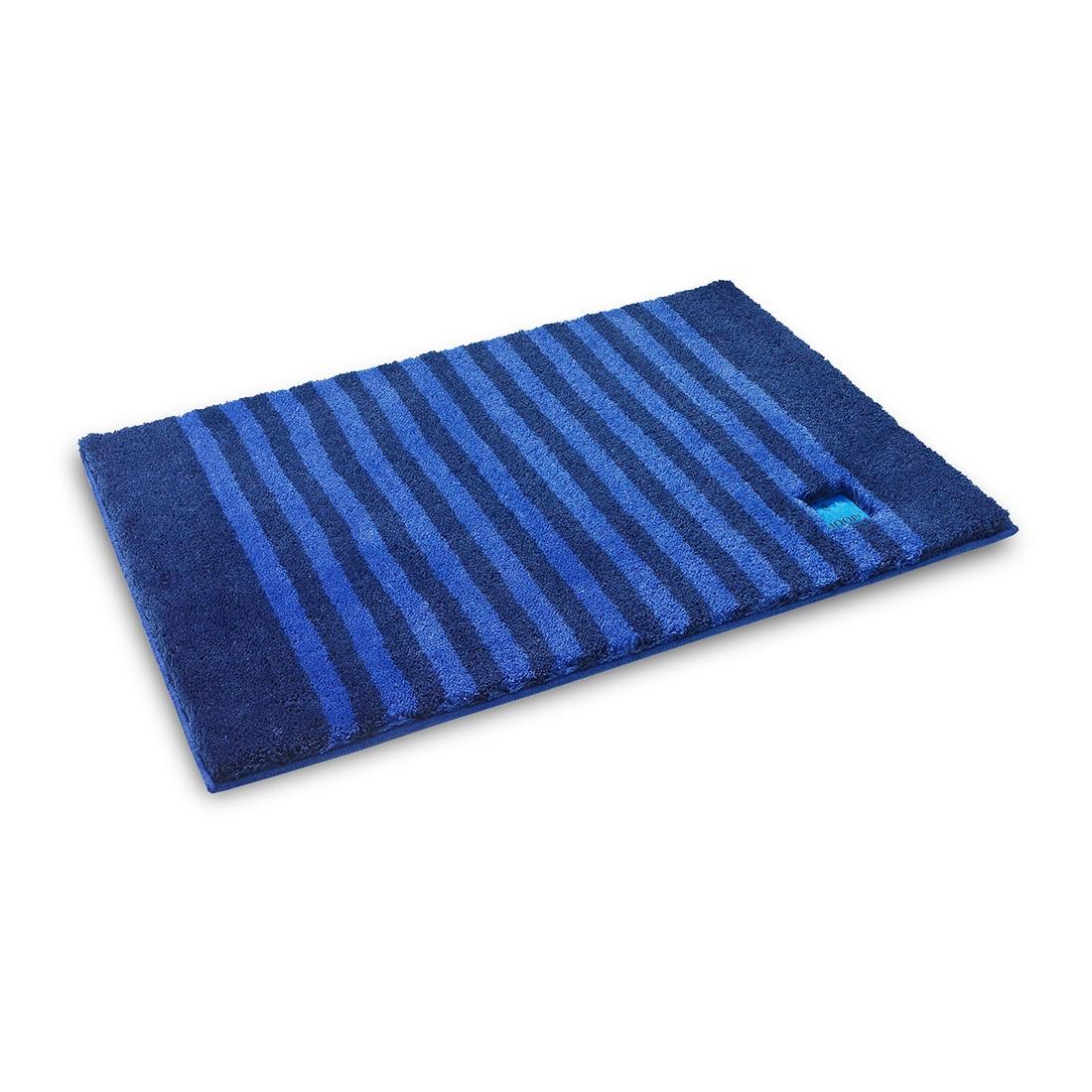Badteppich Classic Stripes – 100% Polyacryl ultramarin – 331 – Abmessungen: 50 x 60 cm, Joop günstig online kaufen