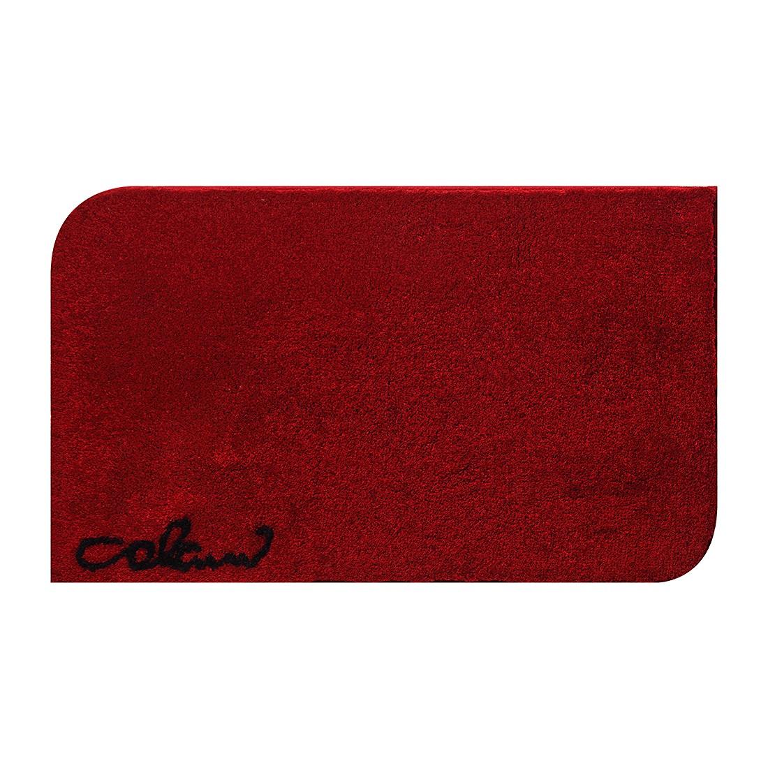 Badteppich Colani 40 – Rot – WC-Vorlage: 60 x 60 cm, Colani günstig online kaufen
