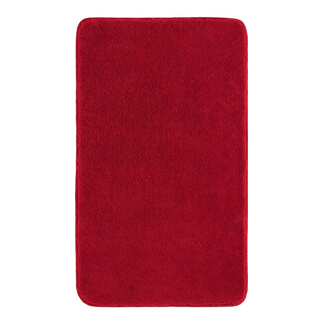 Badteppich Comfort – Rot – Größe: 80 x 50 cm, Grund günstig bestellen
