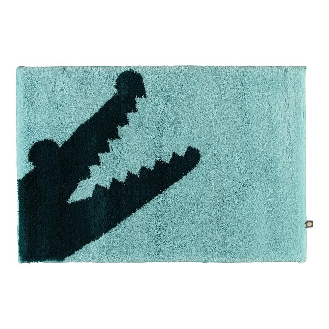 badteppich croc 100 polyacryl mint pazifik 1210 abmessungen 50 x 65 cm rhomtuft g nstig. Black Bedroom Furniture Sets. Home Design Ideas