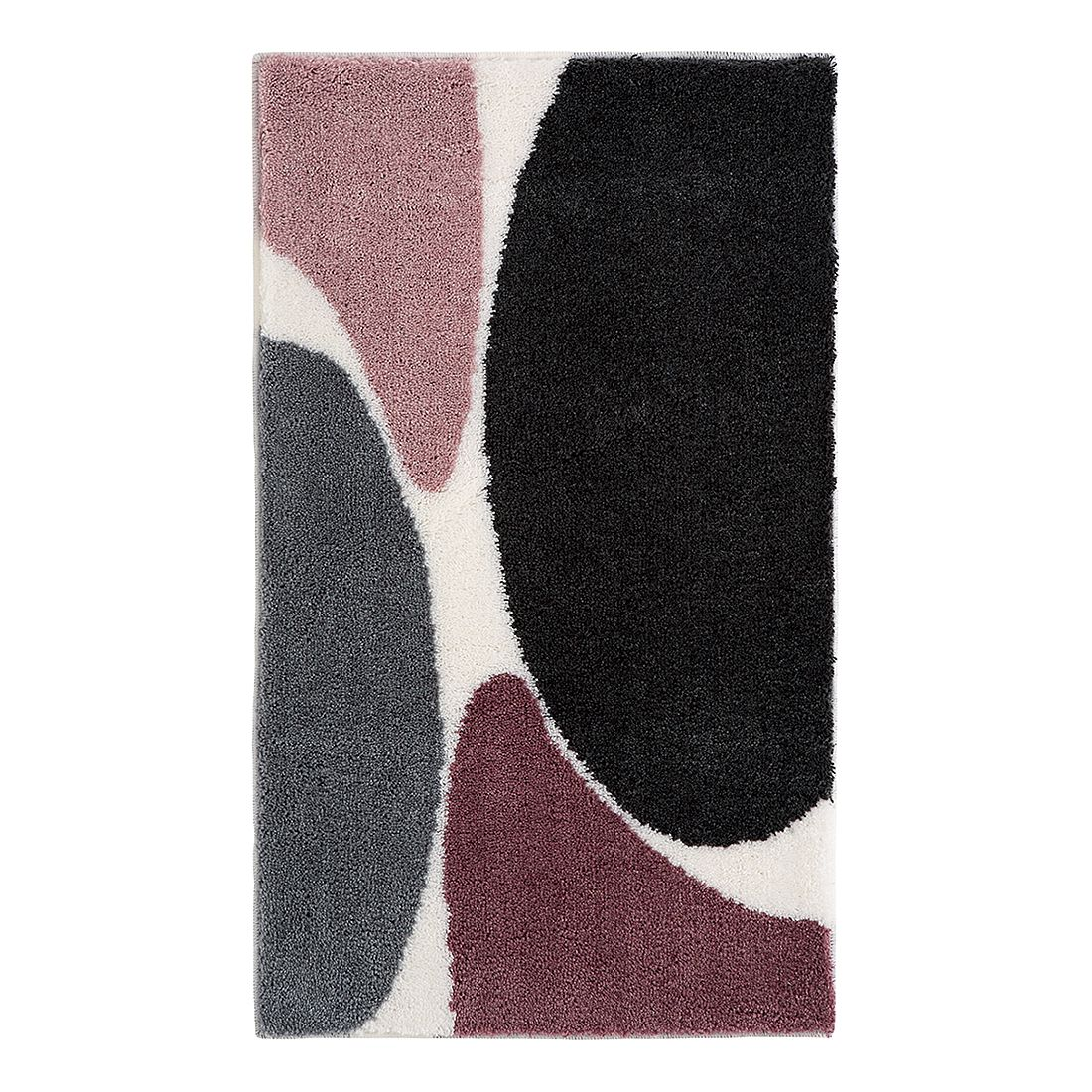 Badteppich Dada Two – Aubergine – Größe: 70 x 120 cm, Grund günstig online kaufen