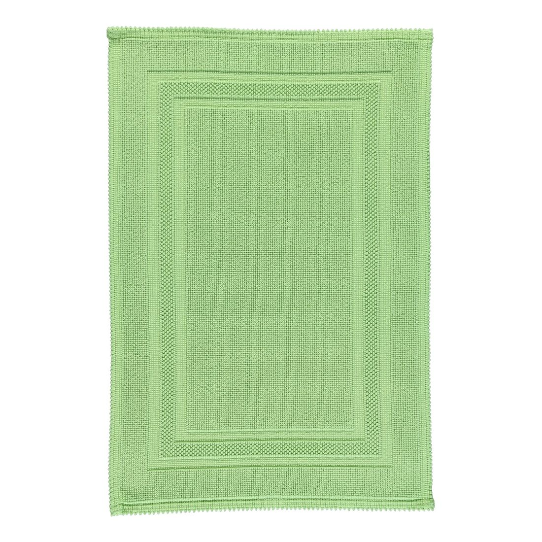 Badteppich Grace – 100% Baumwolle apfel – 59 – 60 x 90 cm, Rhomtuft günstig kaufen