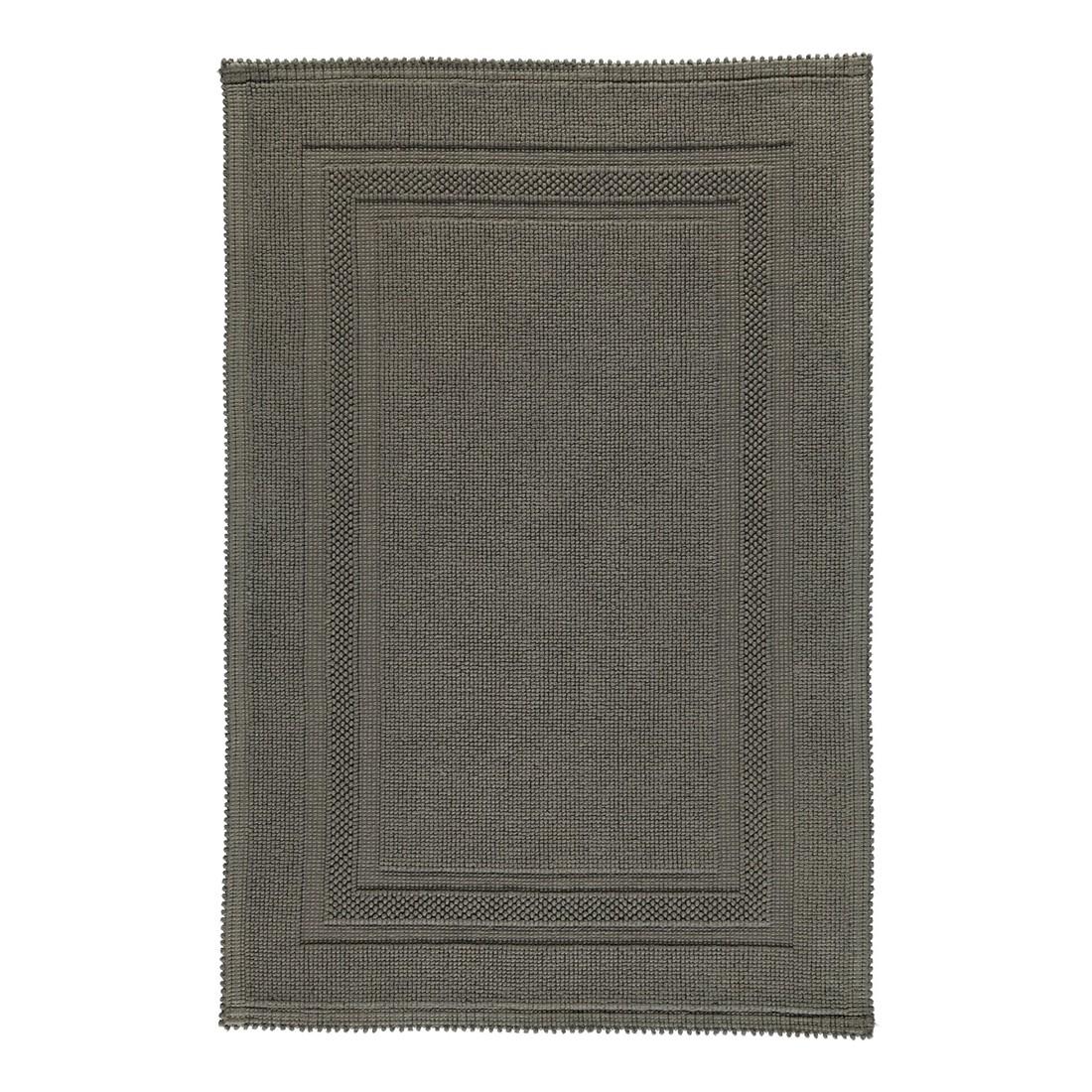 Badteppich Grace – 100% Baumwolle moor – 346 – 50 x 70 cm, Rhomtuft online kaufen
