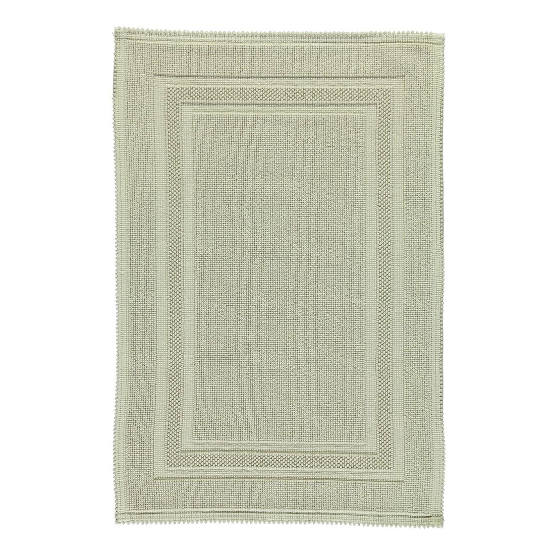 Badteppich Grace – 100% Baumwolle – Stone – 320 – 60 x 90 cm, Rhomtuft günstig kaufen