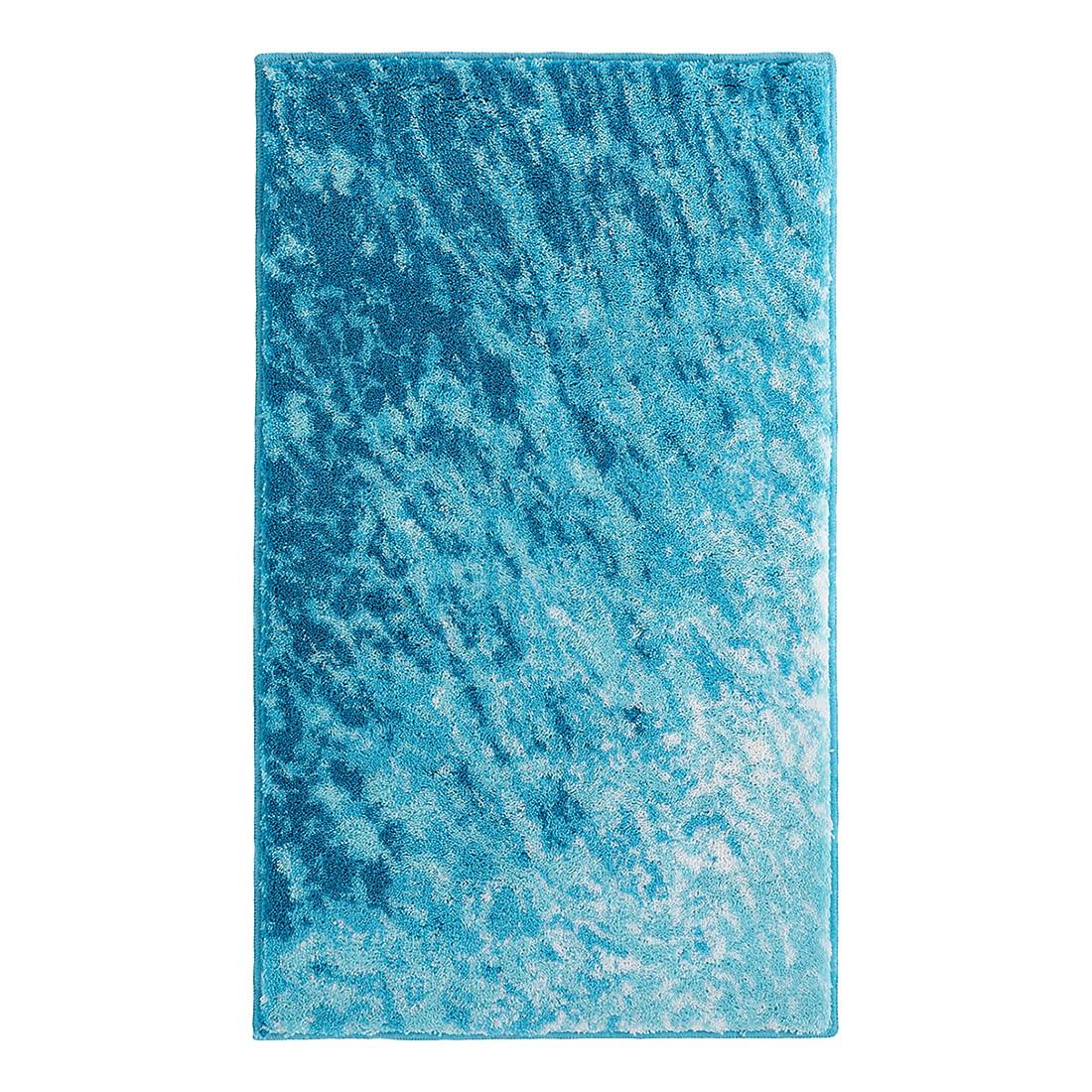 Badteppich Kos – Blau – Größe: 70 x 120 cm, Grund bestellen