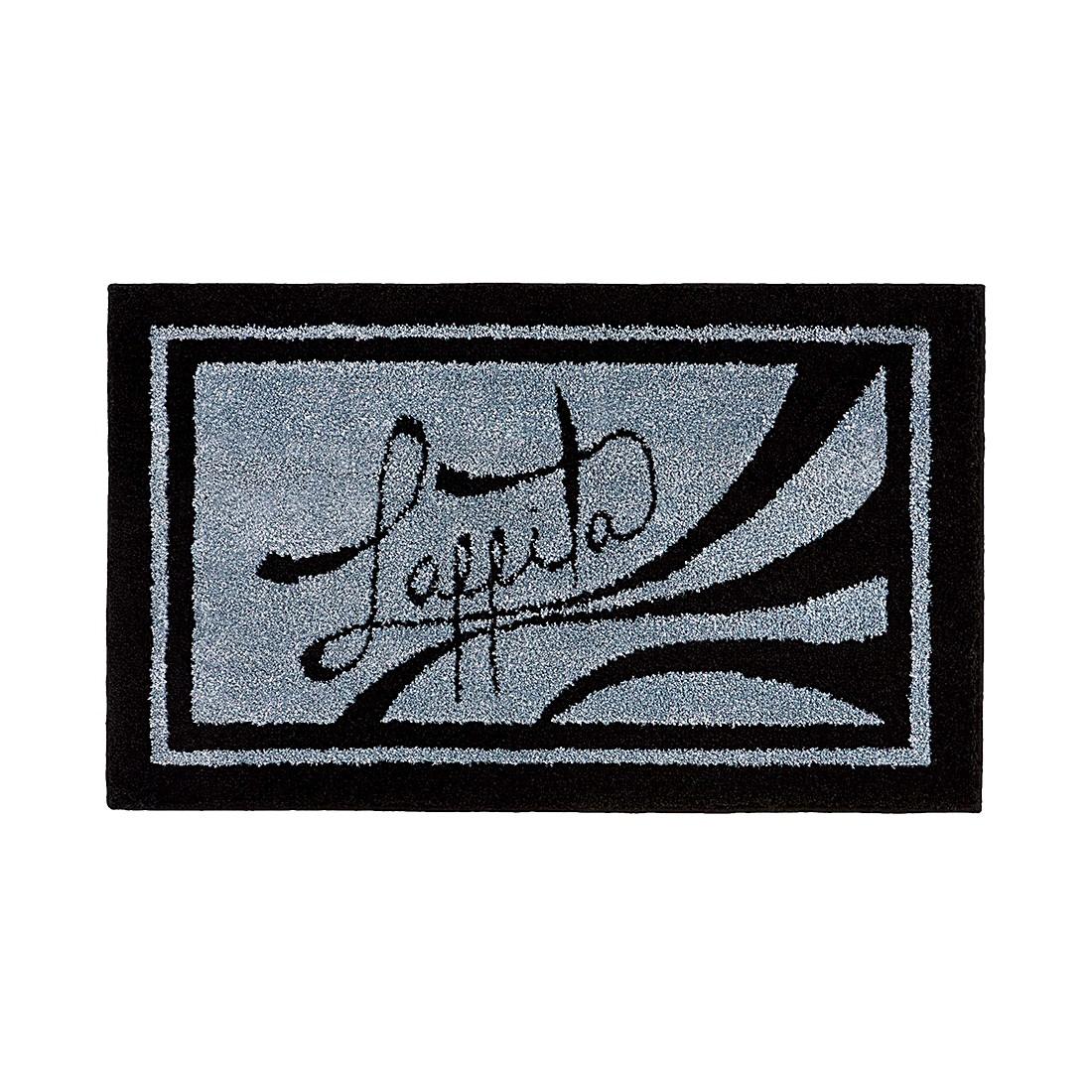 Badteppich Laffita – 60 x 100 cm – Schwarz, Grund jetzt kaufen