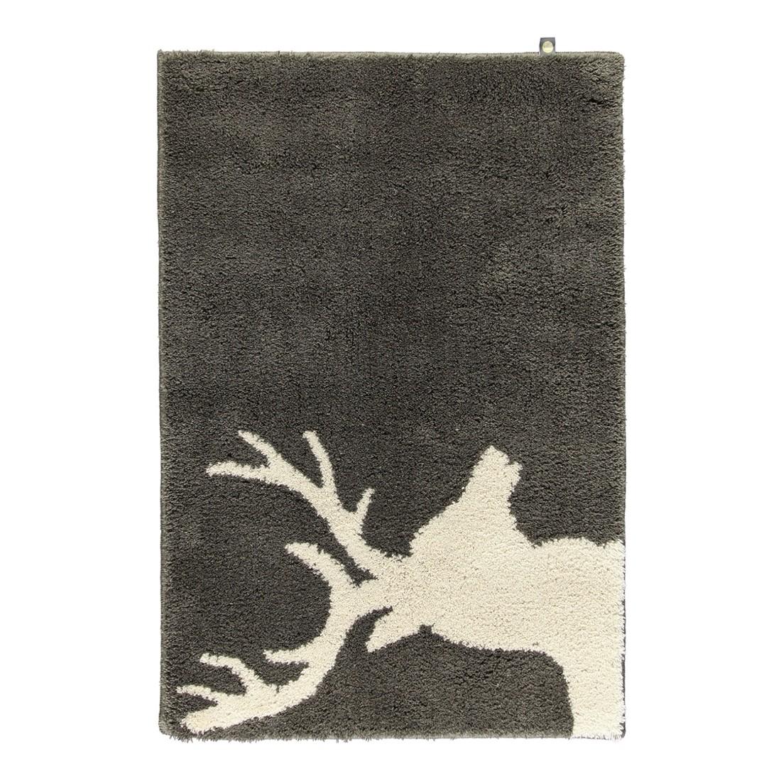 Badteppich Lord – 100% Polyacryl moor/- Stone – 1314 – 70 x 130 cm, Rhomtuft online bestellen