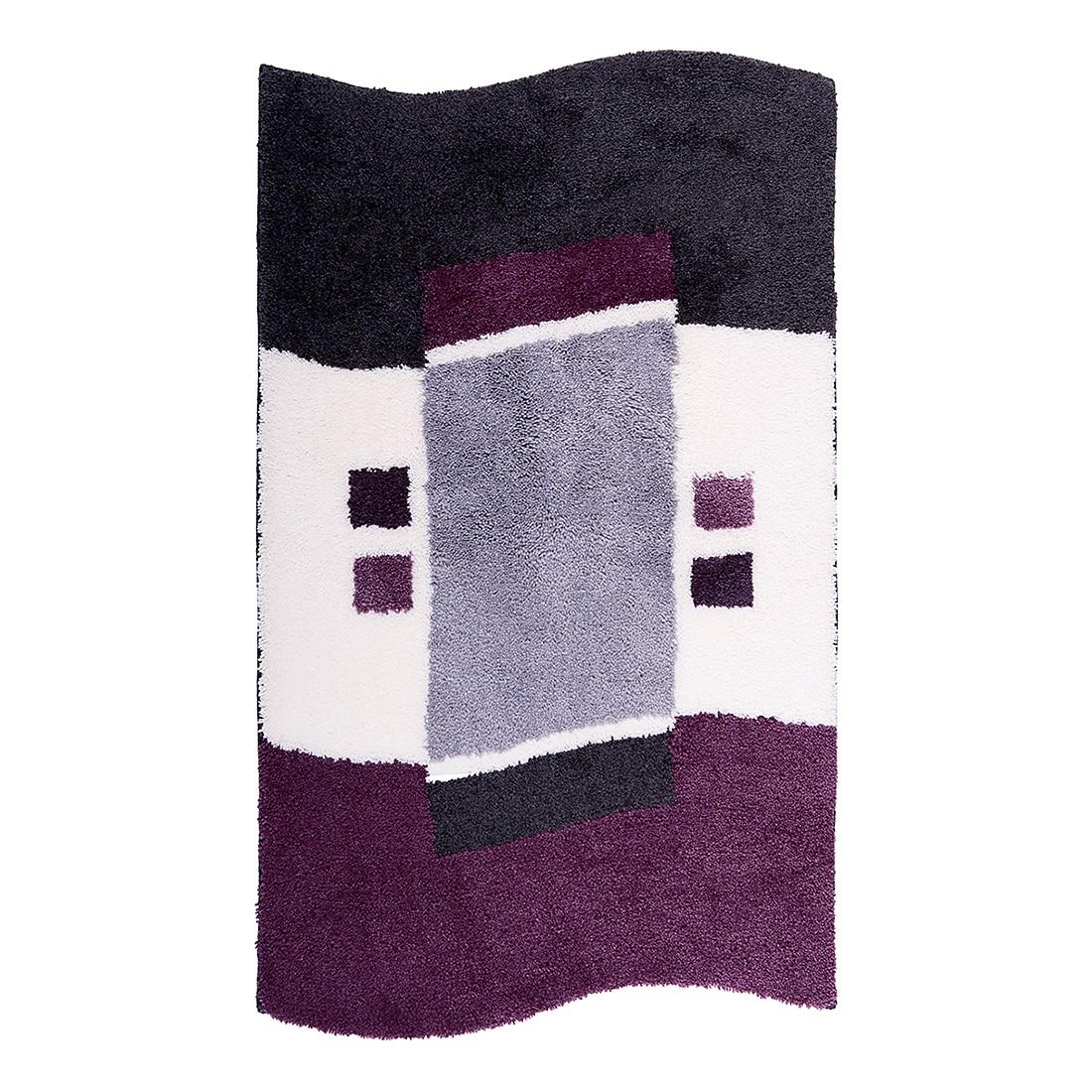 Badteppich Lugano – Aubergine – Größe: 60 x 90 cm, Grund online bestellen