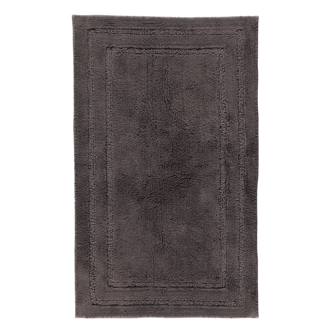 Badteppich Luxus Badteppich 1003 – Anthrazit – 774 – Abmessungen: 60 x 100 cm, Cawö günstig kaufen