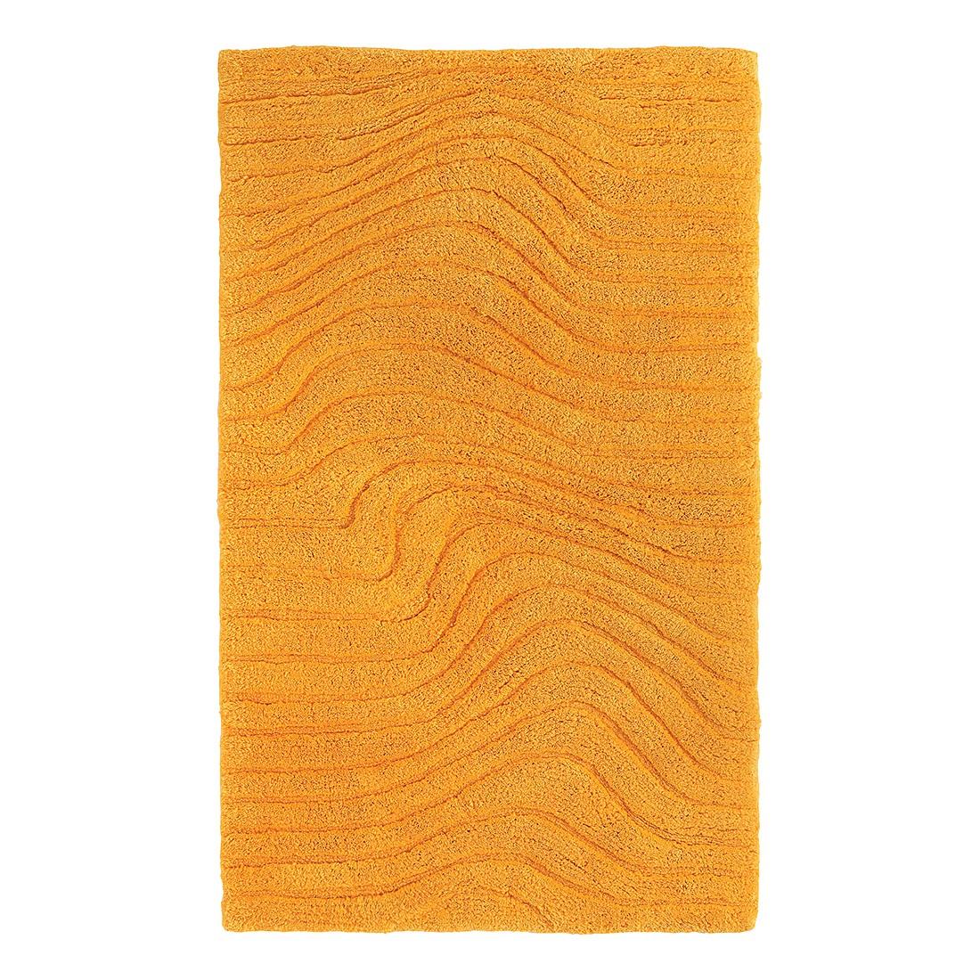 Badteppich Marea – Gelb – Größe: 90 x 60 cm, Grund günstig kaufen