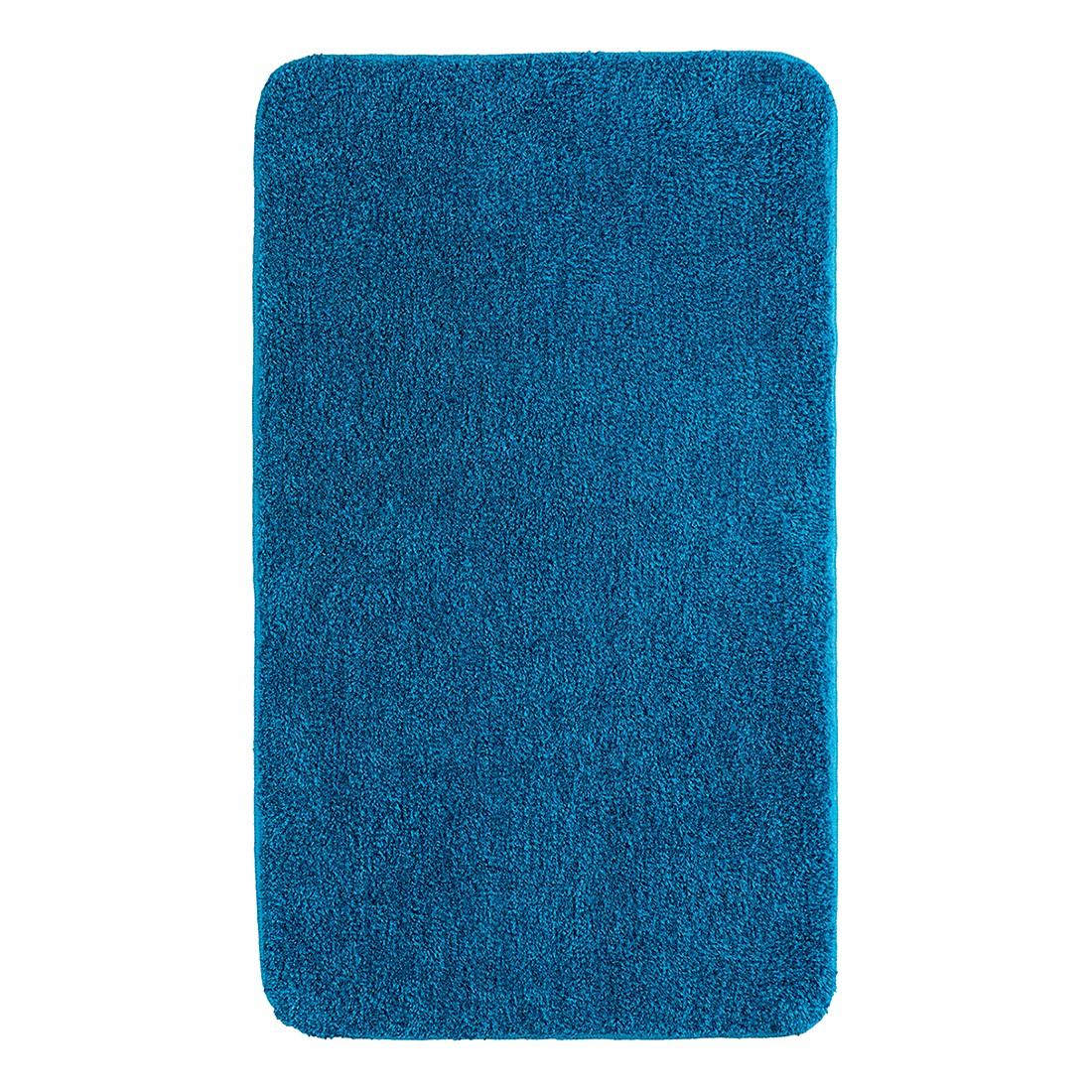 Badteppich Melos – Blau – Größe: 70 x 120 cm, Grund günstig kaufen