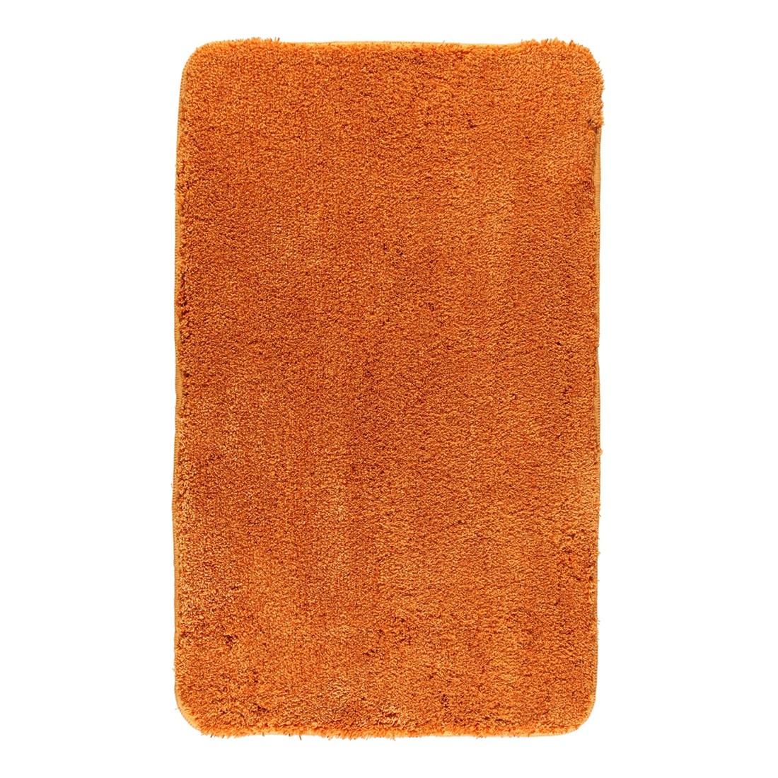 Badteppich Relax - 100% Polyacryl Rost - 316 - Toilettenvorlage: 55 x 55 cm, Kleine Wolke
