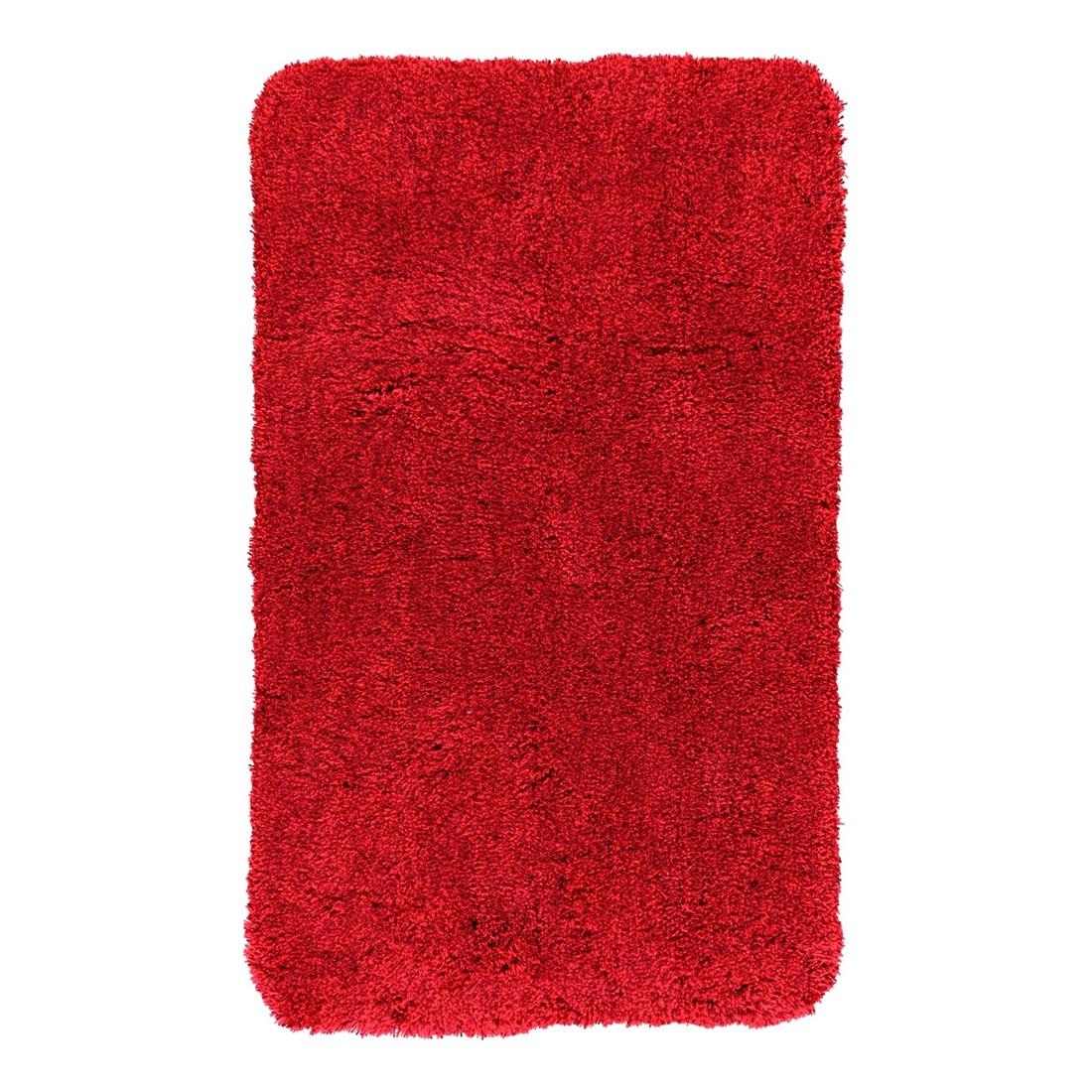 Badteppich Relax – 100% Polyacryl Rubin – 453 – Toilettenvorlage: 55 x 55 cm, Kleine Wolke günstig online kaufen