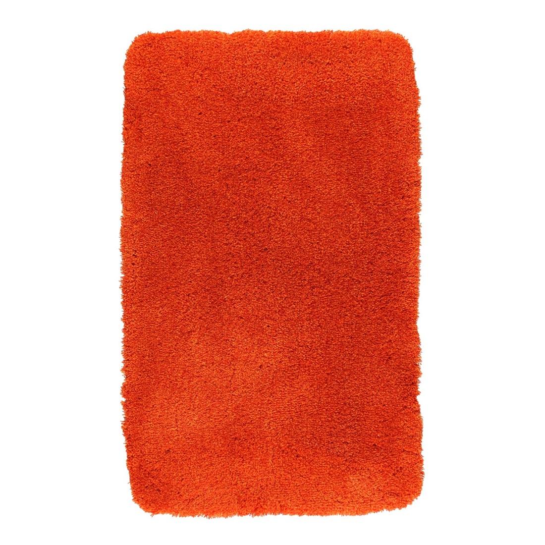 Badteppich Relax – 100% Polyacryl Tomate – 477 – 70 x 120 cm, Kleine Wolke günstig online kaufen