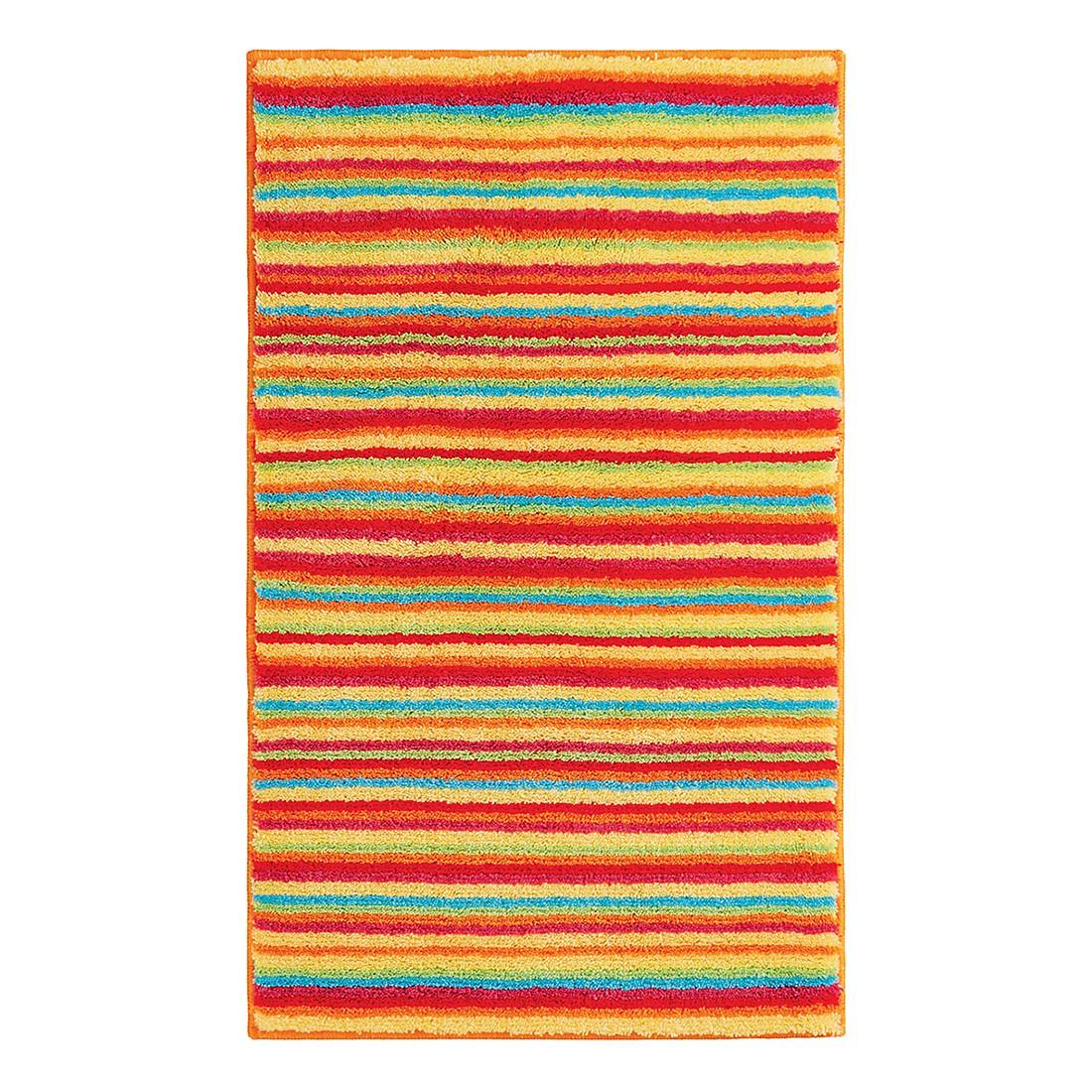Badteppich Stripes – Rot – WC-Vorlage ohne Ausschnitt, Grund günstig kaufen