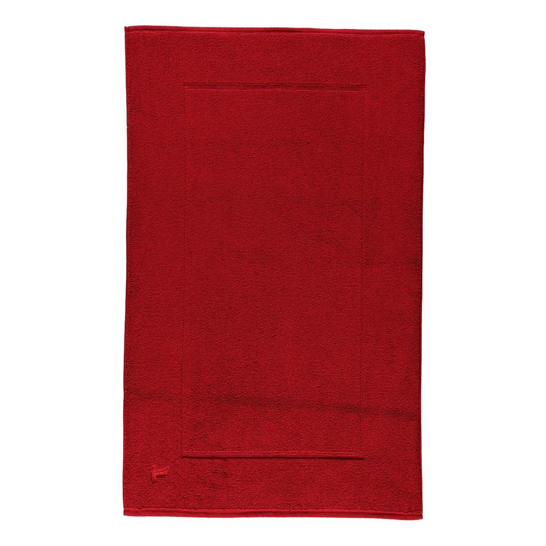 Badteppich Superwuschel – 100% Baumwolle rubin – 075 – 60 x 100 cm, Möve bestellen