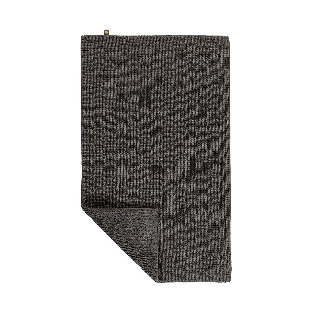 Badteppiche Pur – 100% Baumwolle moor – 346 – 70 x 130 cm, Rhomtuft günstig kaufen