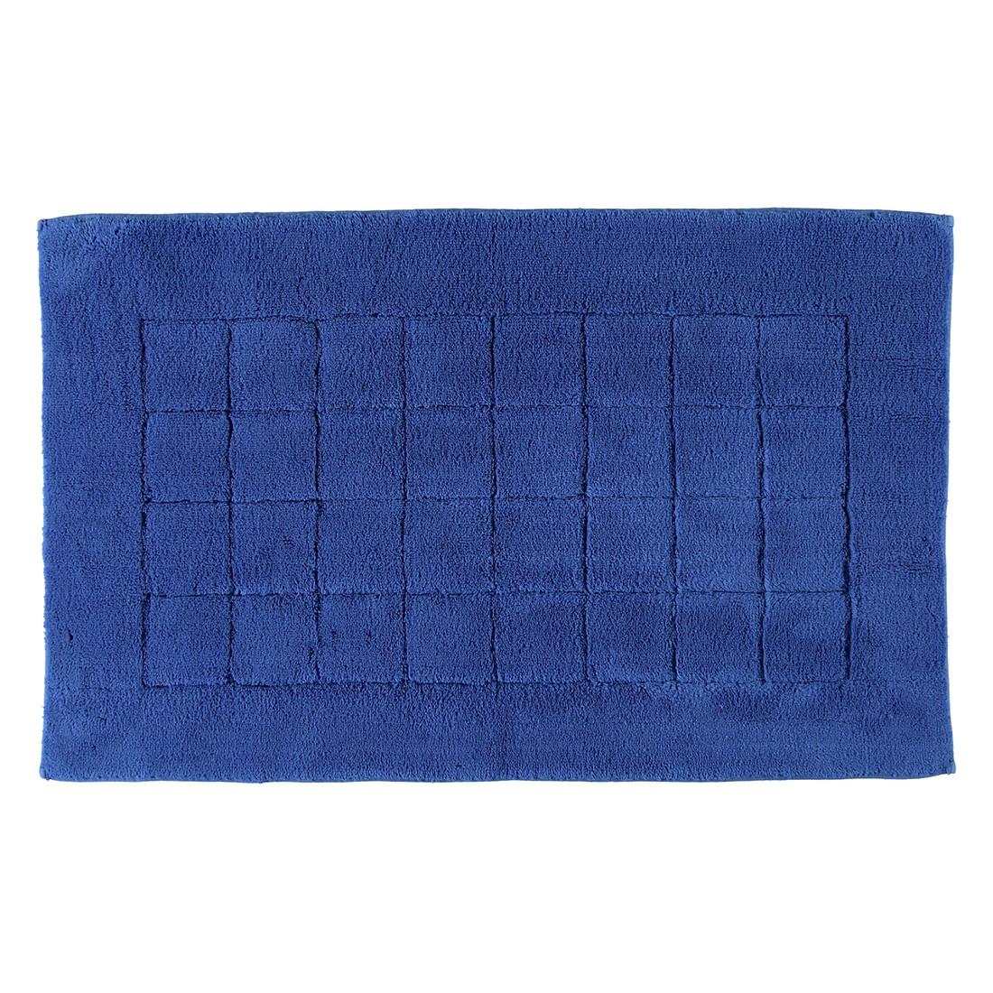 Badteppiche Vienna Sensible – Baumwolle – Deep Blue – 60×100 cm, Vossen günstig online kaufen