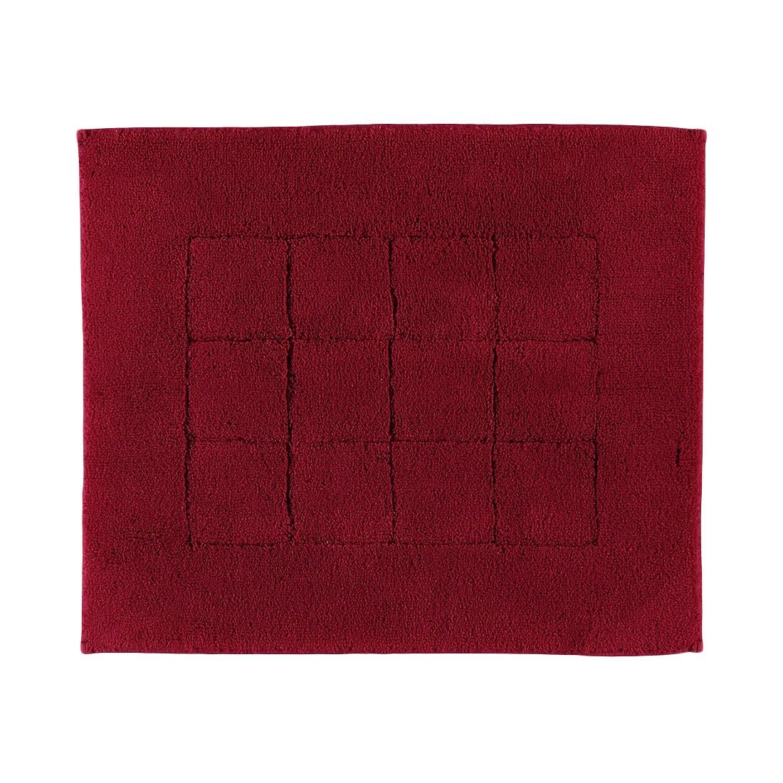Badteppiche Vienna Sensible – Baumwolle – Rubin – 67×120 cm, Vossen online bestellen