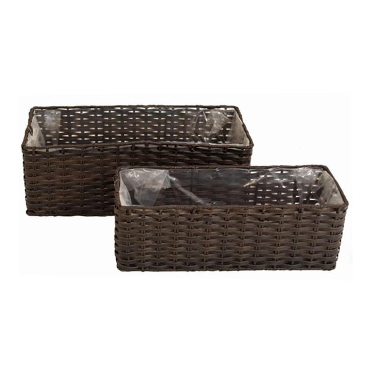 polyrattan pflanzk bel g nstig kaufen. Black Bedroom Furniture Sets. Home Design Ideas